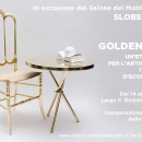 Slobs Casa per il Salone del Mobile 2015: 50 SFUMATURE D'ORO [▼ Click & scroll down]